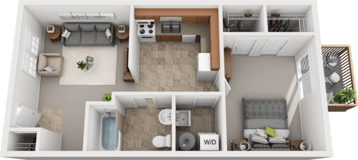 Adams Village – The Limestone Phase I Floor Plan