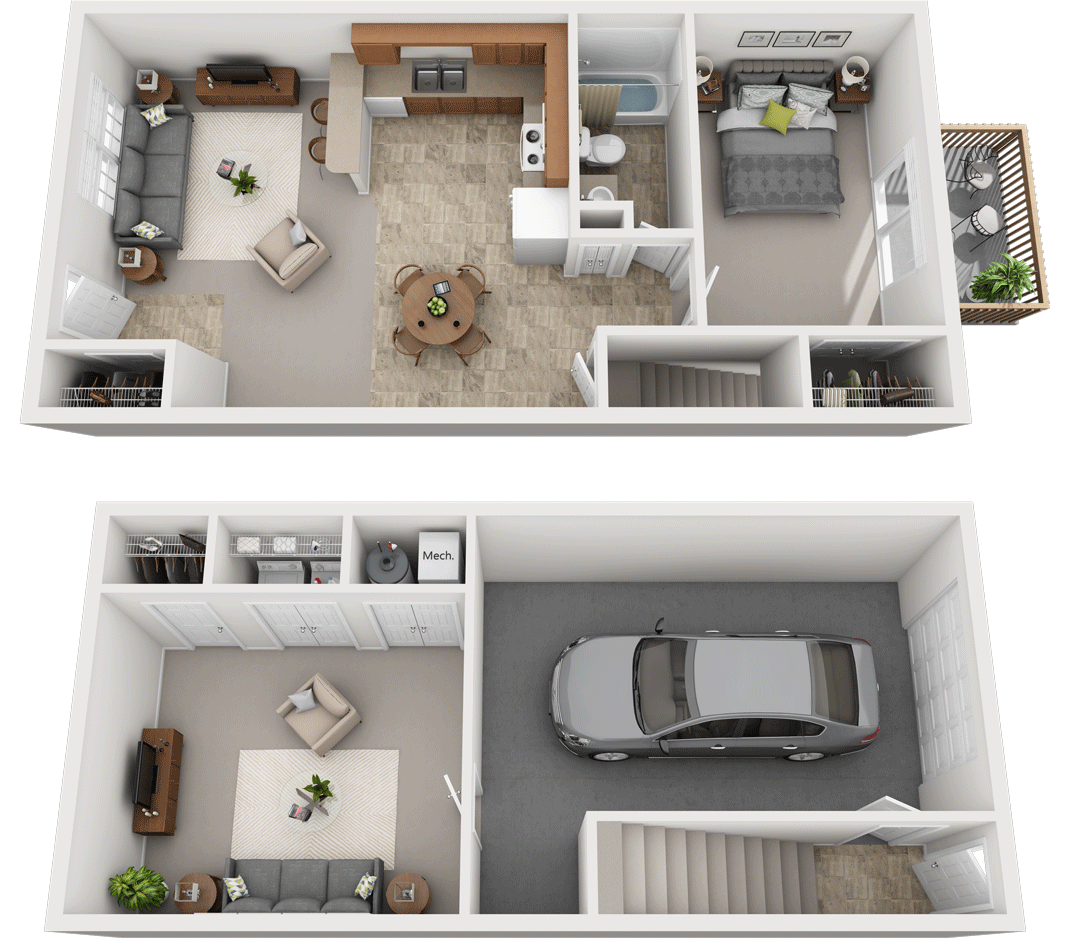 Adams Village – The Sandstone Phase II Floor Plan