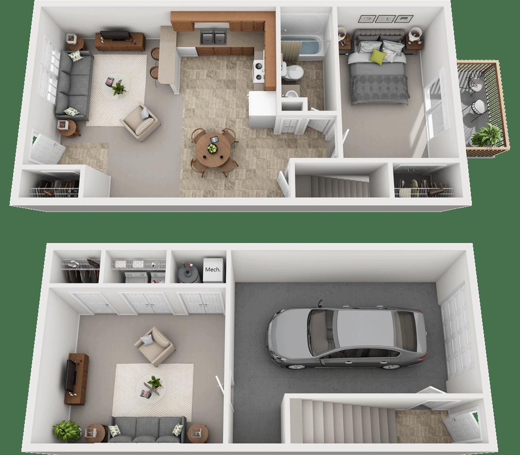 Adams Village – The Sandstone Phase II Floor Plan