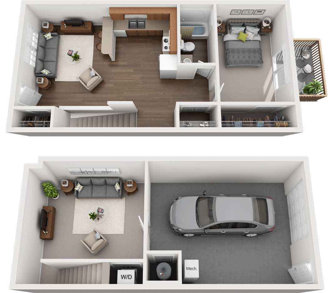 Adams Village – The Sandstone Phase III Floor Plan