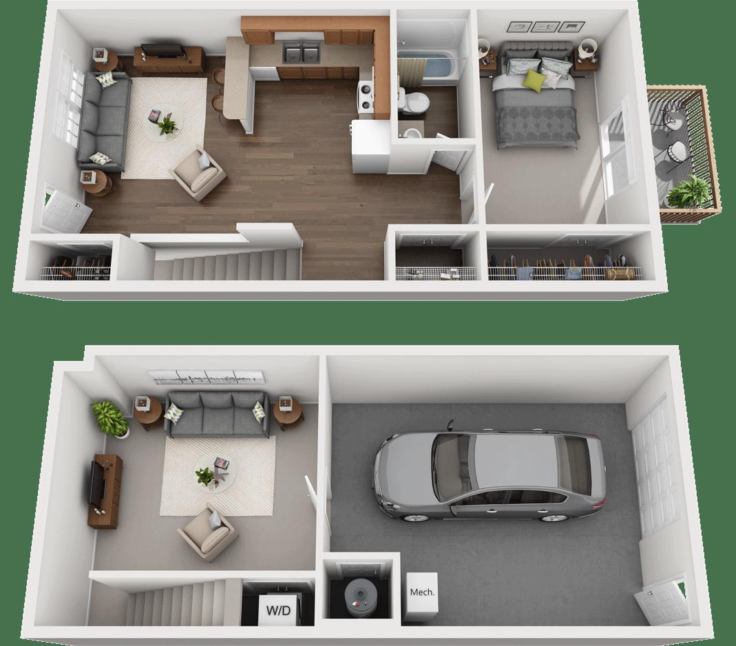 Adams Village – The Sandstone Phase III Floor Plan