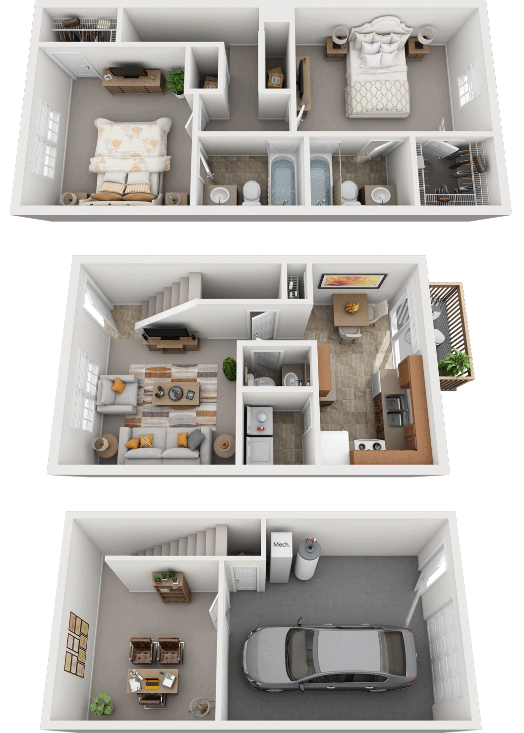 Adams Village – The Quarry Phase I Floor Plan