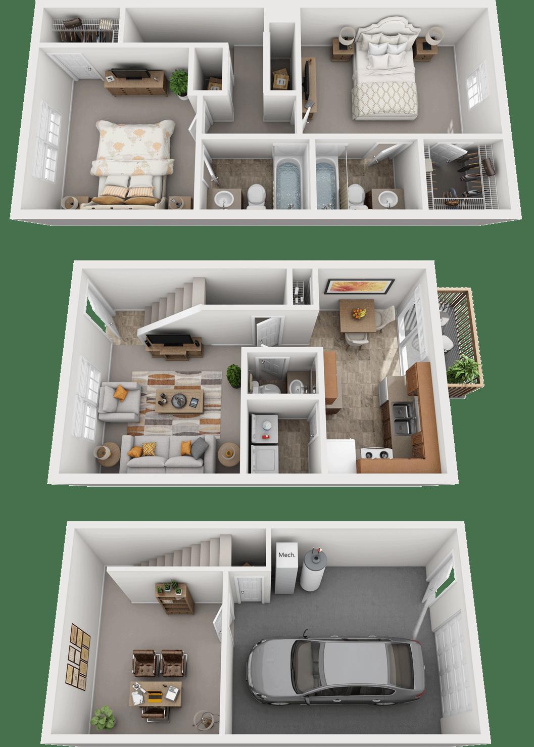 Adams Village – The Quarry Phase I Floor Plan