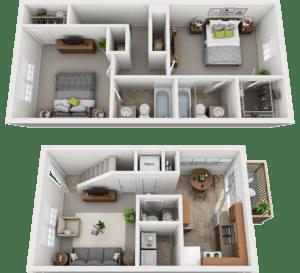 Adams Village – The Woolery Phase I Floor Plan
