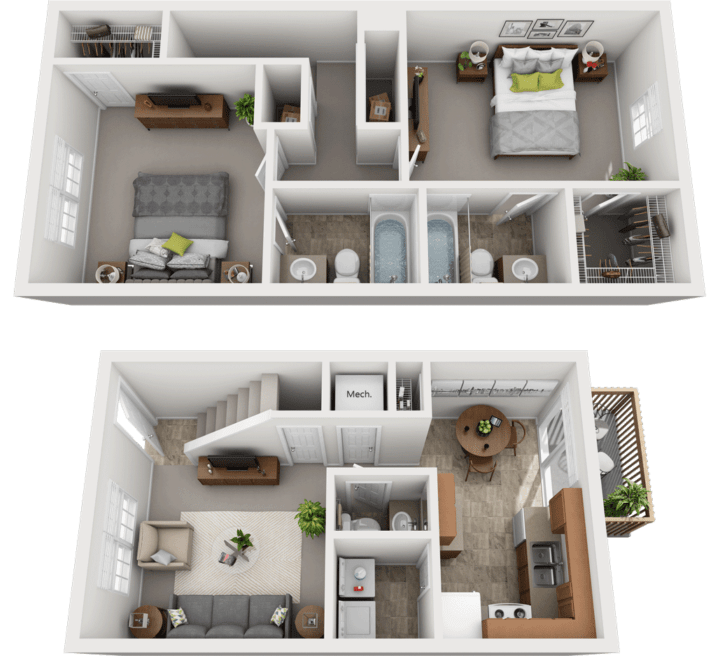 Adams Village – The Woolery Phase I Floor Plan