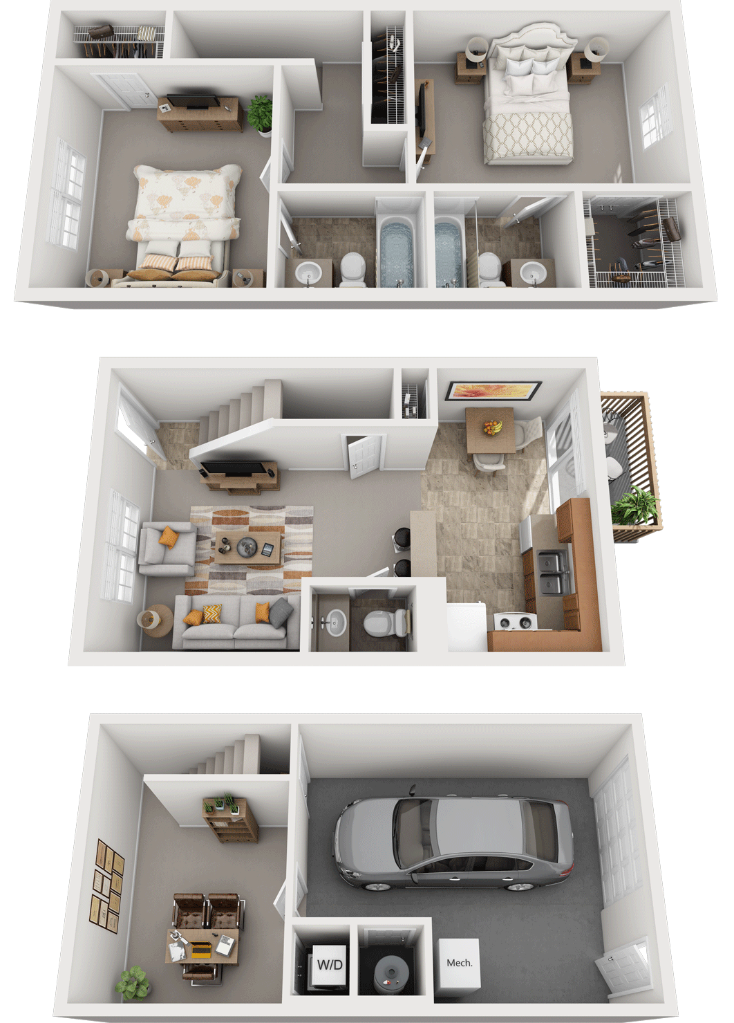 Adams Village – The Quarry Phase II & III Floor Plan