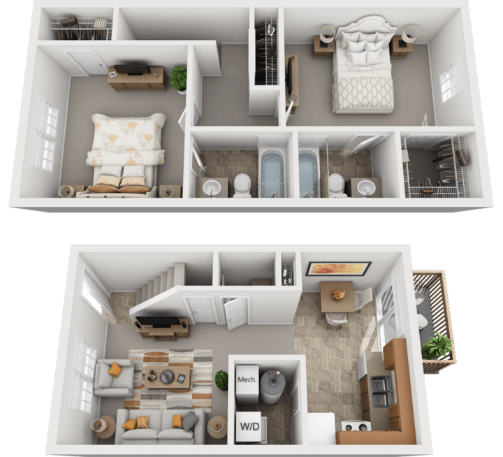 Adams Village – The Woolery Phase II & III Floor Plan