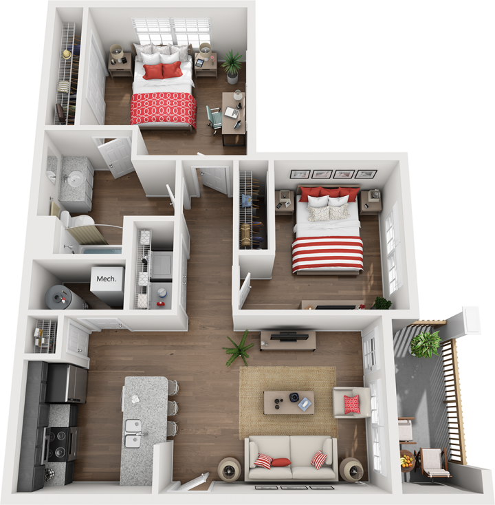 The Clearcreek Floor Plan