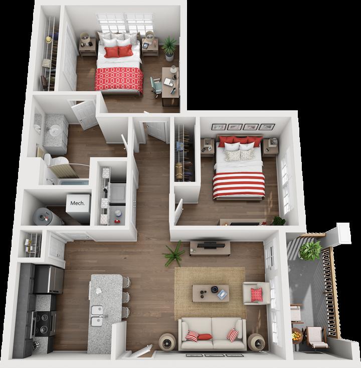 The Clearcreek Floor Plan