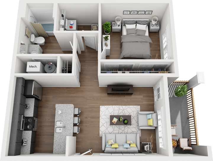 The Elliott Floorplan