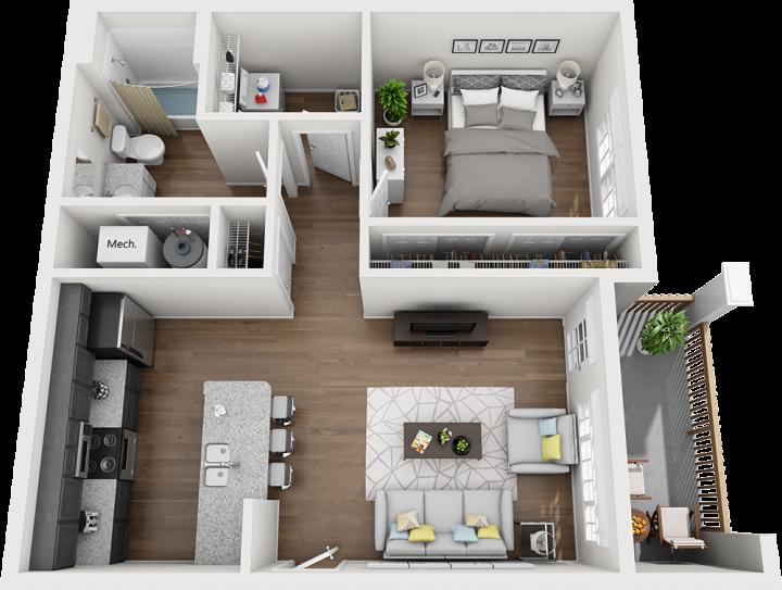 The Elliott Floorplan